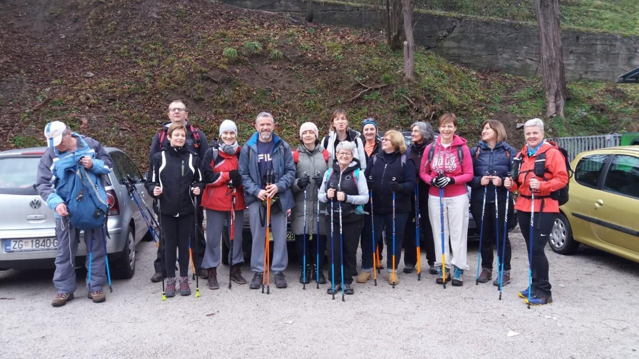 Pedestrian hike and nordic walking - Oštrc 2020