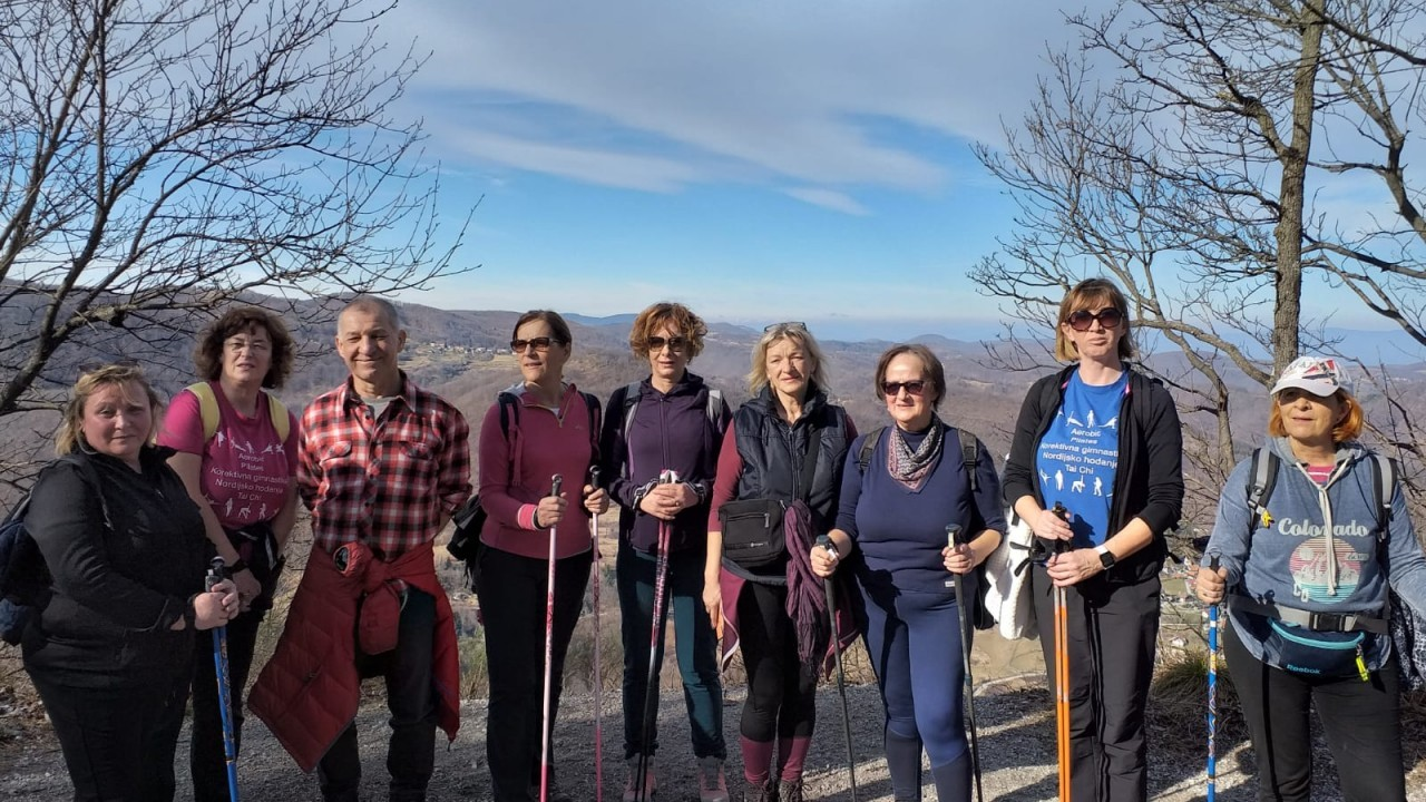 Another pedestrian and Nordic walking hike successfully done