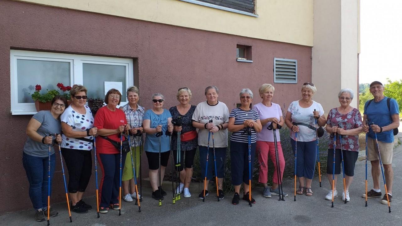 DONACIJA PRIVREDNE BANKE ZAGREB ZA NAŠE UMIROVLJENIKE U BREGANI